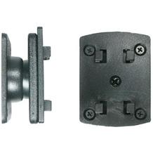 Brodit Montageplatte mit Drehgelenk für HR 4-Loch-Raster-System Halter
