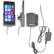 Brodit Nokia Lumia 640 XL KFZ-/Autohalterung mit Ladefunktion (Festinstallation)