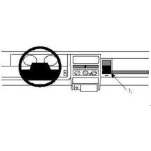 Brodit ProClip - JEEP Grand Cherokee Baujahr 1993-1995 (Montage rechts)
