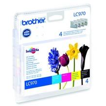 Brother Tinten Multipack LC-970 Value Pack (4er Set)