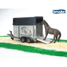 Bruder Pferdeanhänger mit Pferd