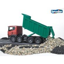 Bruder Scania LKW mit Kippmulde