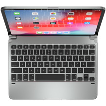 BRYDGE  Aluminum Bluetooth Tastatur, Apple iPad Pro 11 (2018), silber, BRY4011G