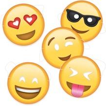 Bubblegum Emoji Party Masken