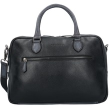 Bugatti Citta Aktentasche Leder 39 cm Laptopfach black