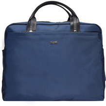 Bugatti Contratempo Aktentasche 43 cm Laptopfach blau