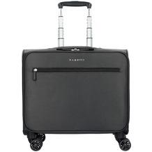 Bugatti Lima Business Trolley / Overnighter 43 cm mit Gepäckfach und Laptopfach anthrazit