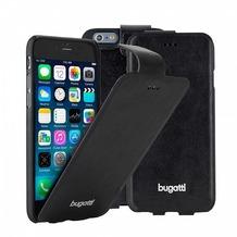 Bugatti UltraThin Flip Case Geneva für iPhone 6 Plus, Schwarz