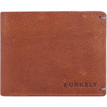 Burkely Antique Avery Geldbörse RFID Leder 12 cm cognac