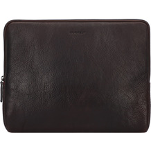 Burkely Antique Avery Laptophülle Leder 35 cm Laptopfach brown