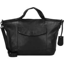 Burkely Just Jackie Shopper Tasche Leder 48 cm black
