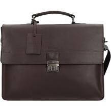 Burkely Vintage Dean Aktentasche Leder 38 cm brown
