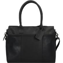 Burkely Vintage Doris Aktentasche Leder 39 cm Laptopfach black
