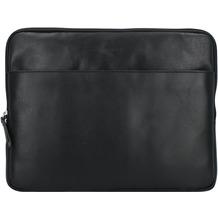 Burkely Vintage Robin Laptophülle Leder 33 cm Laptopfach black