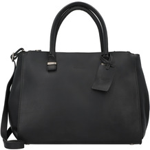 Burkely Vintage Wieske Handtasche Leder 35 cm black