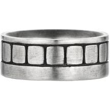 Cai Ring 925/- Sterling Silber oxidiert Europa Silbergrau 22031 61