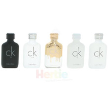 Calvin Klein Deluxe Travel Collection 5x10ml - CK One (2x)/CK All/CK One Gold/CK Be 50 ml