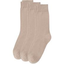Camano Socken 3er Pack sand 35/38
