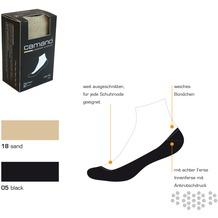 Camano Comfort Footie in Box 05 black 2 Paar 3663 35-38