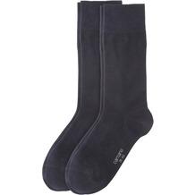Camano Cotton Business socks 2er Pack, navy 39/42