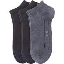 Camano Unisex Sport Sneaker 3er Pack navy - jeans 35/38