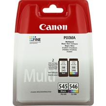 Canon Druckkopf Kombipack 8287B005 schwarz/color PG-545/8287B001, CL-546/8289B001