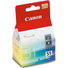 Canon Farbdruckkopf mit Tinte CL-51 f.PIXMA MP450/MP170/MP150/iP6220D/iP6210D/ iP2200