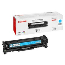 Canon Lasertoner 718 cyan 2.900 Seiten