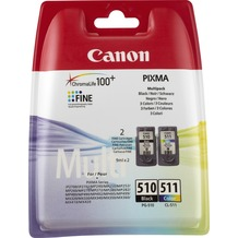 Canon Tinten Kombipack 2970B010 schwarz/color PG-510/2970B001, CL-511/2972B001