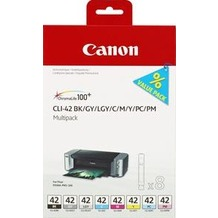 Canon Tinten Multipack CLI-42BK/GY/LGY/C/M/Y/PC/PM
