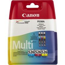 Canon Tinten Multipack CLI-526C/526M/526Y