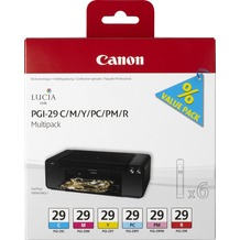 Canon Tinten Multipack PGI-29C/M/Y/PC/PM/R