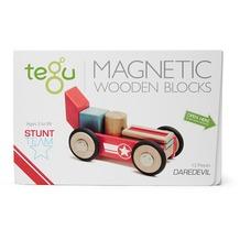 Tegu Magnetisches Holzset Daredevil 12 Teile