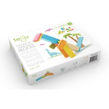 Tegu Magnetisches Holzset farbig 14 Teile