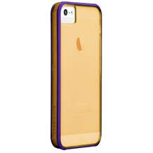 case-mate Haze für iPhone 5/5S/SE, gold-lila