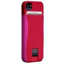 case-mate Pop! ID für iPhone 5/5S/SE, rubinrot-shockingpink
