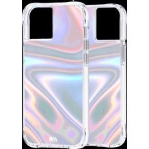 case-mate Soap Bubble Case, Apple iPhone 13, transparent/schillernd, CM046724