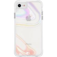 case-mate Soap Bubble Case, Apple iPhone SE (2020)/8/7/6S/6, transparent/schillernd, CM043114