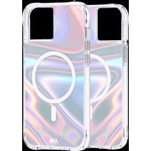 case-mate Soap Bubble MagSafe Case, Apple iPhone 13, transparent/schillernd, CM046726