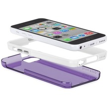 case-mate Tough Naked Cases purple/white Apple iPhone 5C