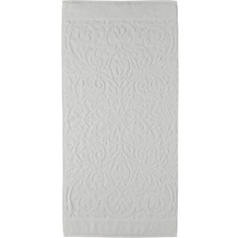 cawö Ambiente Ornament Handtuch weiß 50x100 cm