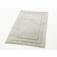 cawö Badteppich (rutschfest) silber 60 cm x 60 cm