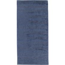 cawö Duschtuch nachtblau 80 x 160 cm
