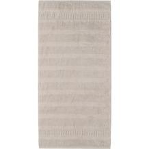 cawö Duschtuch travertin 80 x 160 cm Querstreifen mit Muster