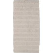cawö Duschtuch travertin 80 x 160 cm Querstreifen