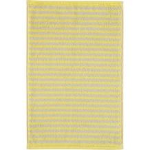 cawö Gästetuch lemon 30 x 50 cm gestreift
