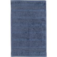 cawö Gästetuch nachtblau 30 x 50 cm, dezente Streifen