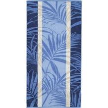 cawö Handtuch blau 50 x 100 cm
