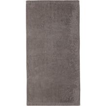 cawö Handtuch graphit 50 x 100 cm, schlicht