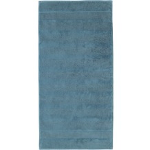 cawö Handtuch petrol 50 x 100 cm Streifen
